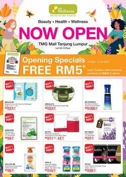 Offers from AEON Wellness in the Petaling Jaya leaflet