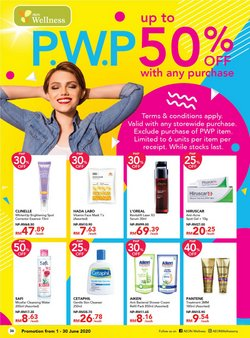 Perfume & Beauty offers in the AEON Wellness catalogue in Penang ( 3 days ago )