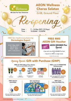 AEON Wellness offers in AEON Wellness catalogue ( Expired)