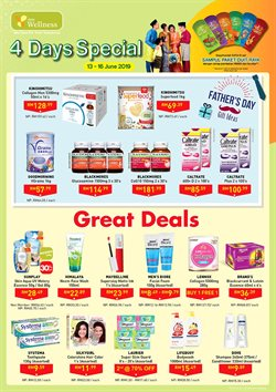 Offers from AEON Wellness in the Klia leaflet