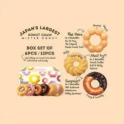 Offers from Mister Donut in the Kuala Lumpur leaflet