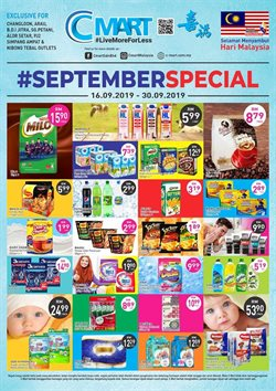 Supermarkets offers in the Cmart catalogue in Kajang-Bangi