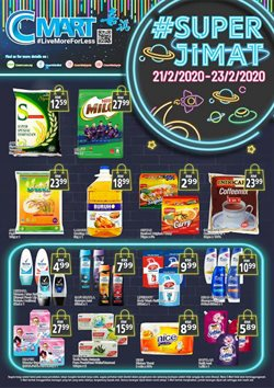 Supermarkets offers in the Cmart catalogue ( Expires tomorrow )