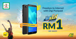 Offers from DiGi in the Kuala Lumpur leaflet