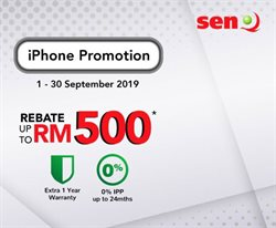 Offers from senQ in the Penang leaflet