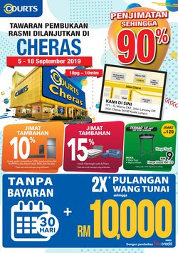 Offers from Courts in the Penang leaflet