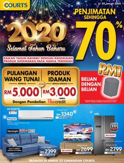 Offers from Courts in the Petaling Jaya leaflet