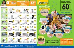 Offers from Courts in the Kuching leaflet
