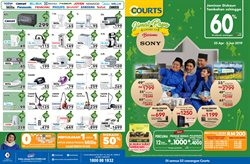 Offers from Courts in the Kajang-Bangi leaflet