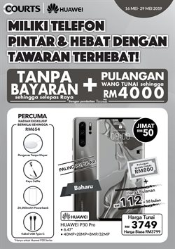 Electronics & Appliances offers in the Courts catalogue in Kajang-Bangi