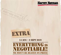 Offers from Harvey Norman in the Klang leaflet