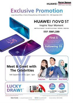 Electronics & Appliances offers in the Harvey Norman catalogue in Kuala Lumpur