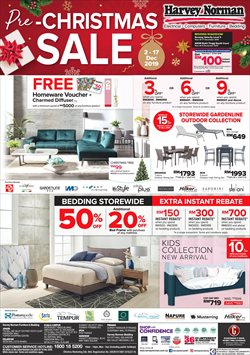 Offers from Harvey Norman in the Johor Bahru leaflet