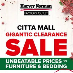 Electronics & Appliances offers in the Harvey Norman catalogue in Klang