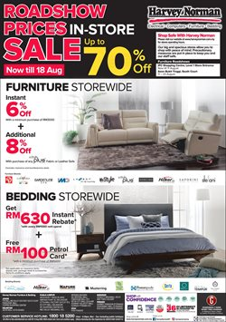 Electronics & Appliances offers in the Harvey Norman catalogue in Klang ( 3 days left )