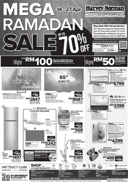 Ramadan offers in Harvey Norman catalogue ( 5 days left)