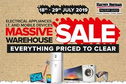 Offers from Harvey Norman in the Sunway-Subang Jaya  leaflet