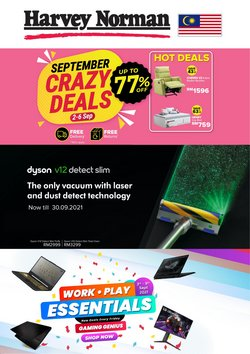 Harvey Norman offers in Harvey Norman catalogue ( 10 days left)