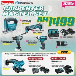 Offers from CT Hardware in the Petaling Jaya leaflet