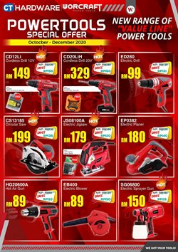 CT Hardware offers in CT Hardware catalogue ( More than a month)