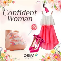 Offers from OSIM in the Kuala Lumpur leaflet