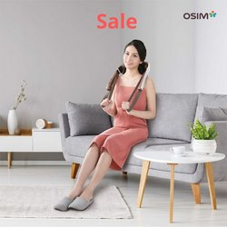 Electronics & Appliances offers in OSIM catalogue ( Expires tomorrow)