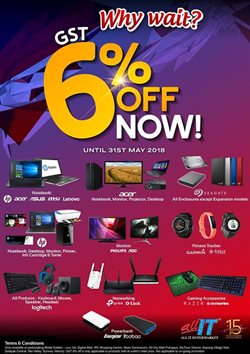 Offers from All It Hypermarket in the Kuala Lumpur leaflet