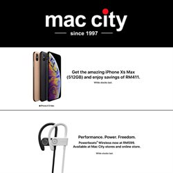 Mac City offers in Mac City catalogue ( Expired)