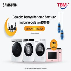TBM offers in TBM catalogue ( Expired)