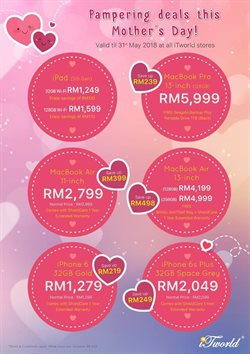 Offers from iTworld in the Petaling Jaya leaflet