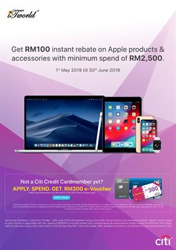 Offers from iTworld in the Kajang-Bangi leaflet