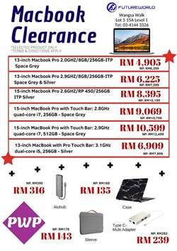 Offers from Future World in the Kuala Lumpur leaflet
