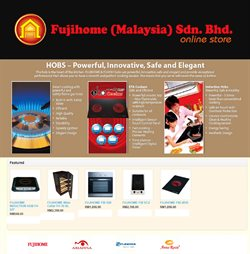 Offers from Fujihome in the Kuala Lumpur leaflet