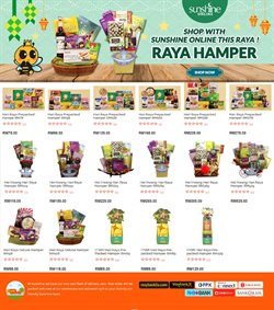 Supermarkets offers in the Sunshine catalogue in Kuala Lumpur