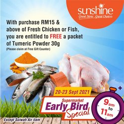 Sunshine offers in Sunshine catalogue ( Published today)