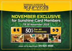 Offers from Sunshine in the Penang leaflet