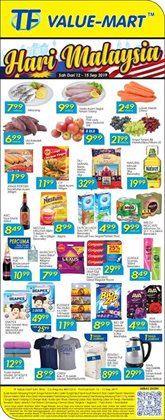Offers from TF Value-Mart in the Seremban leaflet