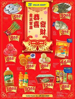 Offers from TF Value-Mart in the Penang leaflet