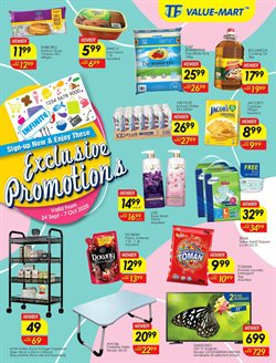 TF Value-Mart catalogue in Ipoh ( 8 days left )