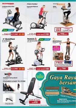 Reebok offers in Fitness Concept catalogue ( 10 days left)