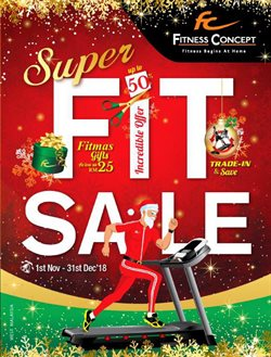 Offers from Fitness Concept in the Kuala Lumpur leaflet