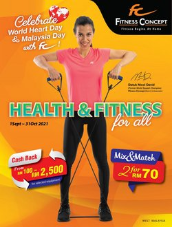 Fitness Concept offers in Fitness Concept catalogue ( 2 days left)
