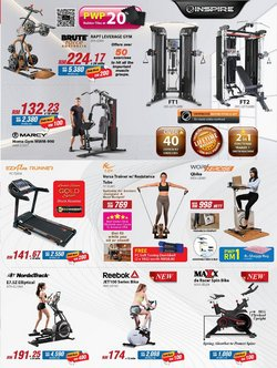 Reebok offers in Fitness Concept catalogue ( More than a month)