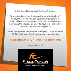 Fitness Concept coupon ( 2 days left )