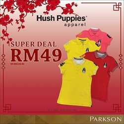 Offers from Hush Puppies in the Melaka leaflet