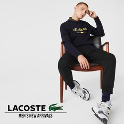Lacoste offers in Lacoste catalogue ( More than a month)