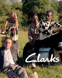 Clarks offers in Clarks catalogue ( More than a month)