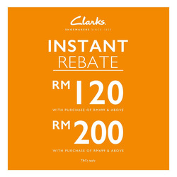 Offers from Clarks in the Kuala Lumpur leaflet