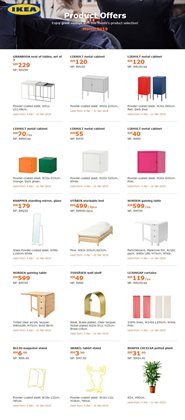 Offers from IKEA in the Shah Alam leaflet