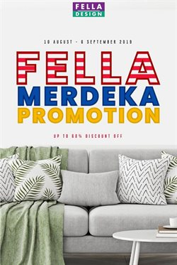 Home & Furniture offers in the Fella Design catalogue in Petaling Jaya